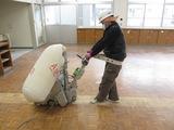 西渓中学校再研磨塗装工事